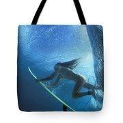 Blue Embrace Tote Bag