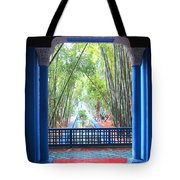 Blue Escape Tote Bag