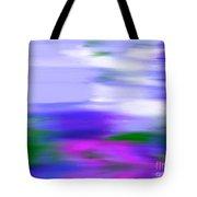 Blue Evening Mist Tote Bag