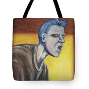 Blue - External Tote Bag