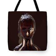 Blue Eye Of A Chocolate Doll Tote Bag