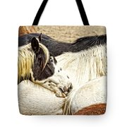 Blue Eyed Beauty Tote Bag