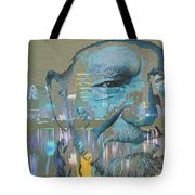 Blue Eyes Cryin' Tote Bag