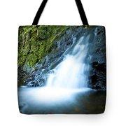 Blue Falls Off The Beaten Path Tote Bag