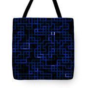 Blue Ferns Tote Bag