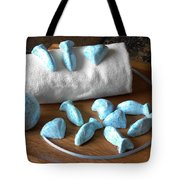 Blue Fish Bath Bombs Tote Bag