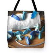 Blue Fish Mini Soap Tote Bag