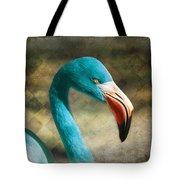 Blue Flamingo Tote Bag