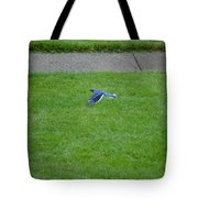 Blue Flight Tote Bag
