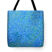 Blue Flowers Tote Bag