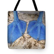 Blue-footed Booby Feet  Tote Bag