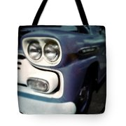 Blue Ford Pickup Tote Bag