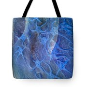 Blue Fossil Tote Bag