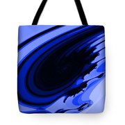 Blue Fractal Tote Bag