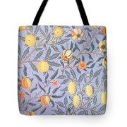 Blue Fruit Tote Bag
