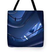 Blue Future Tote Bag