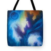 Blue Giant Tote Bag