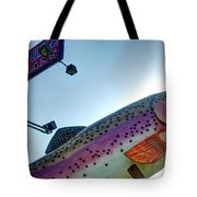 Blue Gill Closeup Tote Bag