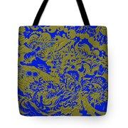 Blue Gold 40 Tote Bag