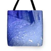 Blue Goosebumps Tote Bag