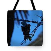 Blue Grapes Tote Bag
