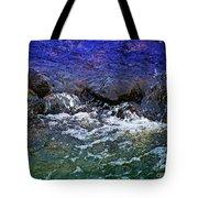Blue Green Water Tote Bag