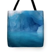 Blue Grotto Tote Bag by Ginny Barklow