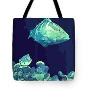 Blue Grouper Tote Bag