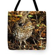 Blue Grouse Tote Bag