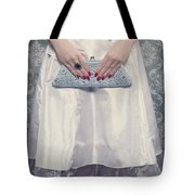 Blue Handbag Tote Bag