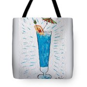 Blue Hawaiian Cocktail Tote Bag