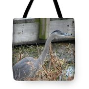Blue Heron 2 Tote Bag