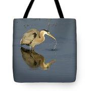 Blue Heron   #7783 Tote Bag