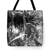 Blue Heron 7bw Tote Bag