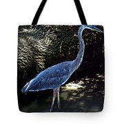 Blue Heron 8 Tote Bag