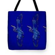 Blue Heron Ballet Tote Bag