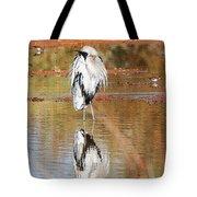 Blue Heron Grooming Tote Bag