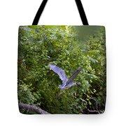Blue Heron Journey I Tote Bag