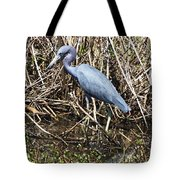 Blue Heron Lacassine Tote Bag