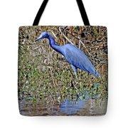 Blue Heron Louisiana Tote Bag