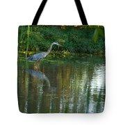 Blue Heron Magic Tote Bag