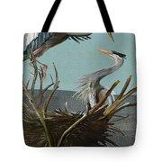 Blue Herons Tote Bag