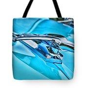Blue Hood Ornament-hdr Tote Bag