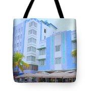 Blue Hotels Tote Bag