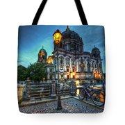 Blue Hour Dom Tote Bag
