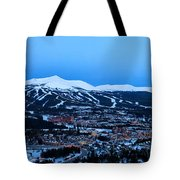 Blue Hour In Breckenridge Tote Bag