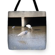 Blue Huron Tote Bag
