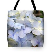 Blue Hydrangea Flowers Tote Bag