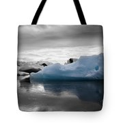 Blue Ice Iceland Tote Bag
