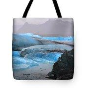 Blue Ice Tote Bag